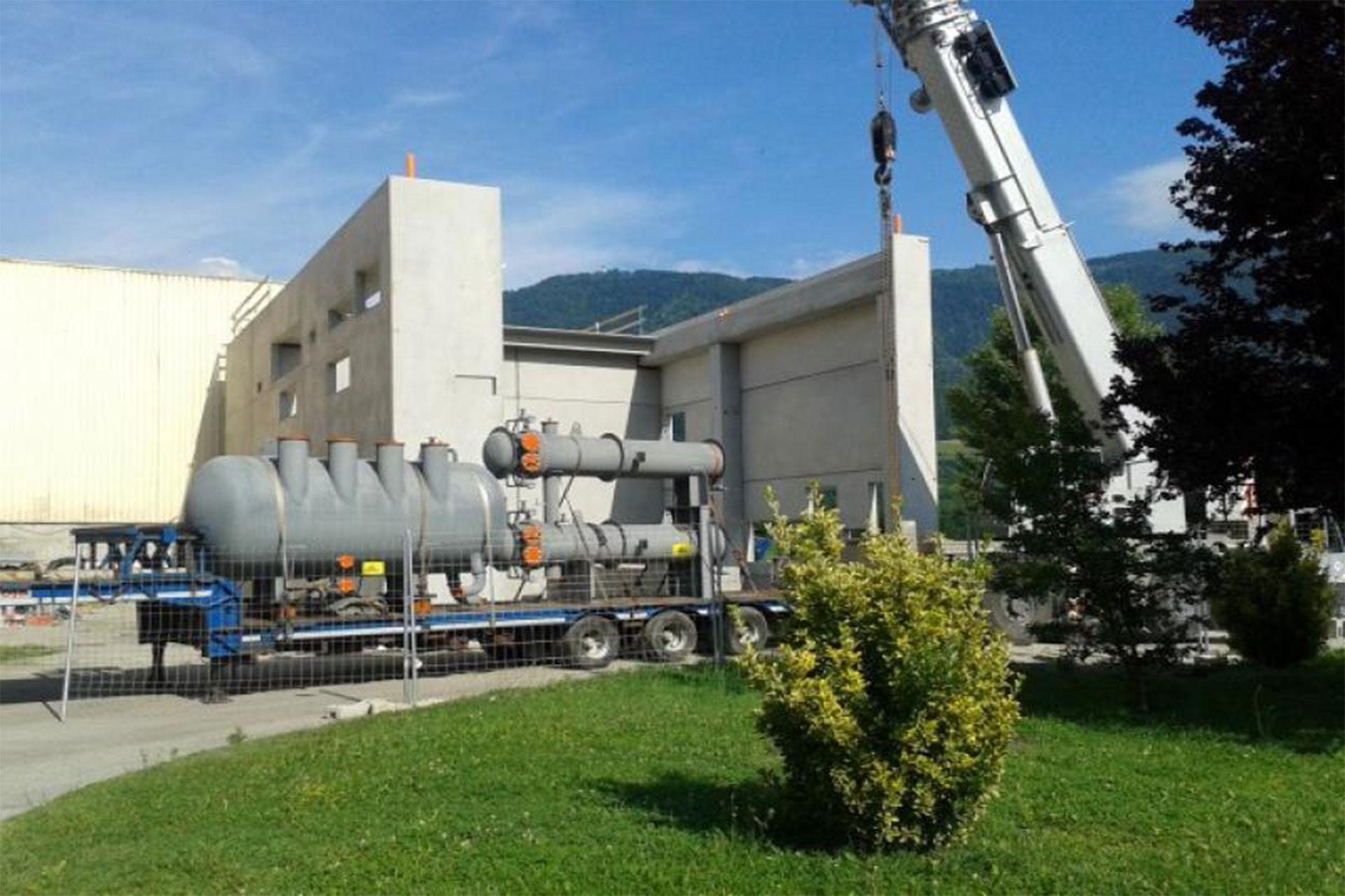 Nuovo impianto di produzione elettrica su recuperatore di calore