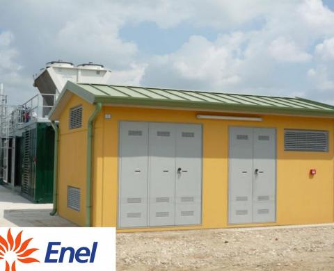 Costruzione cabine tipo enel prefabbricate